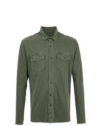 Camisa de manga larga verde oliva de OSKLEN