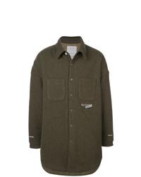 Camisa de manga larga verde oliva de Readymade