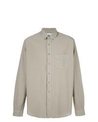 Camisa de manga larga verde oliva de Schnaydermans