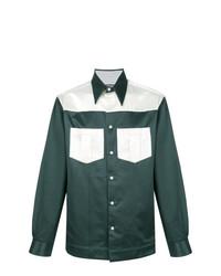 Camisa de manga larga verde oscuro de Calvin Klein 205W39nyc