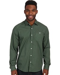 Camisa de manga larga verde oscuro de Volcom