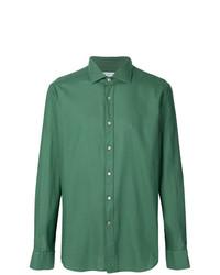Camisa de manga larga verde de Bagutta