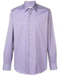 Camisa de manga larga violeta claro de Prada