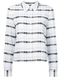 Camisa de Rayas Horizontales Blanca de Armani Jeans