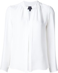 Camisa de seda blanca de Derek Lam