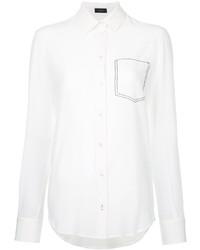 Camisa de seda blanca de Joseph
