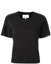 Camisa de seda con adornos negra de 3.1 Phillip Lim
