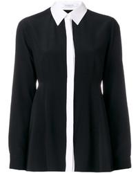 Camisa de Seda Negra de Givenchy