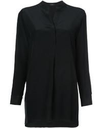 Camisa de seda negra de Joseph