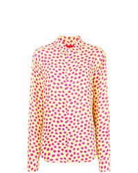 Camisa de vestir a lunares amarilla de Eckhaus Latta