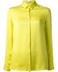 Camisa de vestir amarilla de Etro
