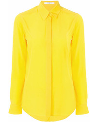 Camisa de Vestir Amarilla de Givenchy