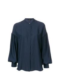Camisa de vestir azul marino de Aspesi