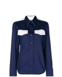 Camisa de vestir azul marino de Calvin Klein 205W39nyc