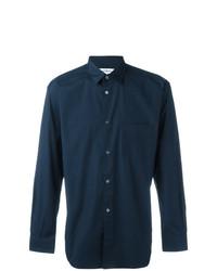 Camisa de vestir azul marino de Comme Des Garcons SHIRT