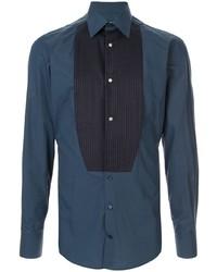 Camisa de vestir azul marino de Dolce & Gabbana