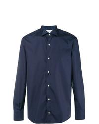 Camisa de vestir azul marino de Eleventy