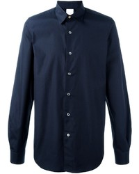 Camisa de Vestir Azul Marino de Paul Smith