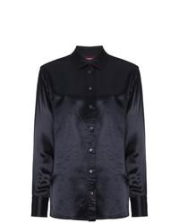 Camisa de vestir azul marino de Sies Marjan