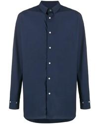 Camisa de vestir azul marino de Zucca