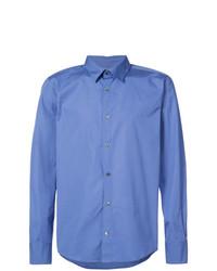 Camisa de Vestir Azul de A.P.C.
