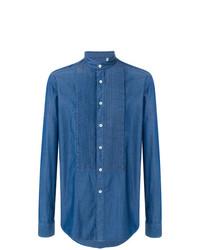 Camisa de Vestir Azul de Dell'oglio