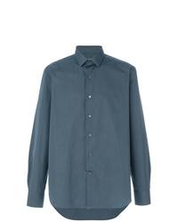 Camisa de vestir azul de Lanvin