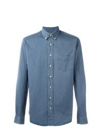 Camisa de Vestir Azul de Schnaydermans