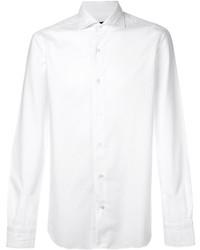 Camisa de Vestir Blanca de Barba