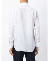 Camisa de vestir blanca de Loro Piana