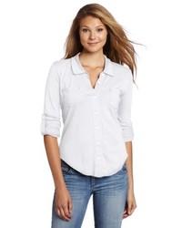Camisa de vestir blanca de Michael Stars