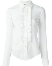 Camisa de vestir blanca de RED Valentino