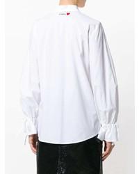 Camisa de vestir blanca de Vivetta