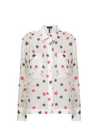 Camisa de vestir bordada blanca de Rag & Bone