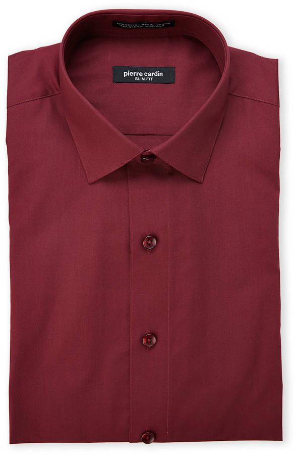 Moda para Hombres › Camisas › Camisas de vestir › Camisas de vestir burdeos  Camisa de Vestir Burdeos de Pierre Cardin