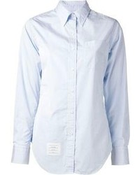 Camisa de vestir celeste original 2879709