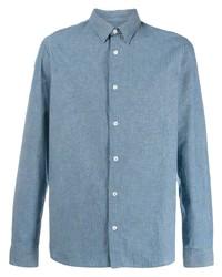 Camisa de vestir celeste de A.P.C.