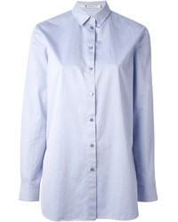 Camisa de vestir celeste de Alexander Wang