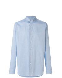 Camisa de Vestir Celeste de Borriello
