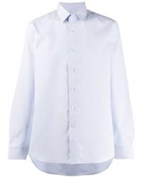 Camisa de vestir celeste de Canali