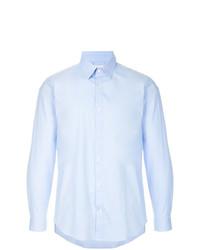 Camisa de vestir celeste de Cerruti 1881
