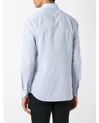 Camisa de vestir celeste de Xacus