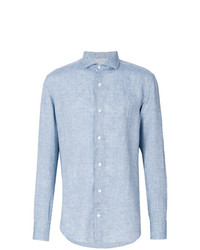 Camisa de vestir celeste de Eleventy