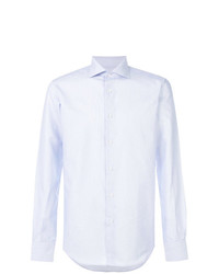 Camisa de vestir celeste de Fashion Clinic Timeless
