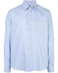Camisa de vestir celeste de Gucci