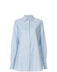 Camisa de vestir celeste de Holland & Holland