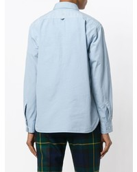 Camisa de vestir celeste de Margaret Howell