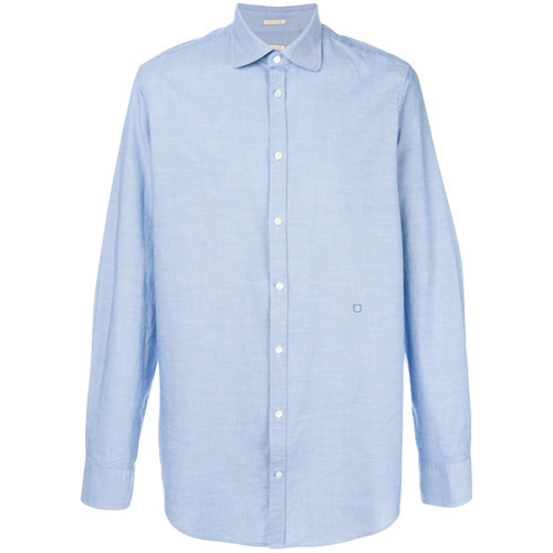Camisa de vestir celeste de Massimo Alba