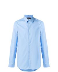 Camisa de Vestir Celeste de N°21