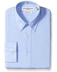 Camisa de Vestir Celeste de Nick Graham Everywhere